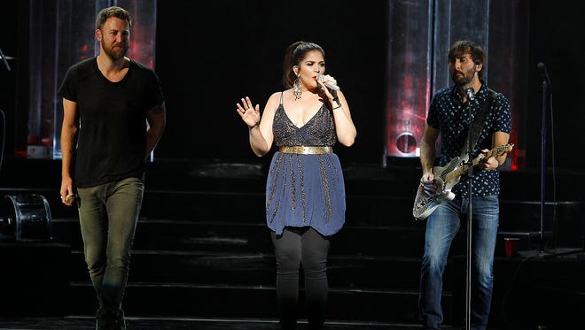 Lady Antebellum performs at Ak-Chin Pavilion in Phoenix on Friday, June 2, 2017.