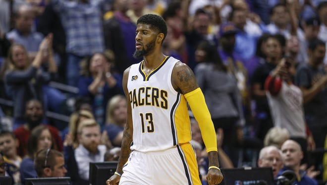 Paul George will not play Friday night against the Phoenix Suns because of soreness in his left ankle.