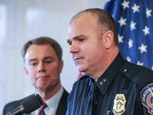 Tully: A story about former Indy police chief Troy Riggs
