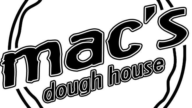 Mac's Dough House logo.