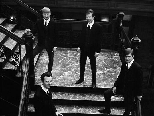 A publicity photo of the Bobby Fuller Four.