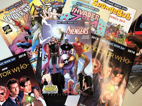 All Star Comics & Games is one of several stores participating in Free Comic Book Day May 4.