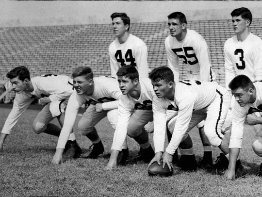 Don Holleder was a star on the 1950 Aquinas football