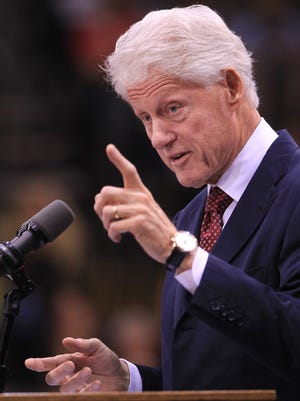 Former President Bill Clinton will speak June 10, 2014 in Indianapolis. His speech at the Indiana Convention Center is not open to the public.