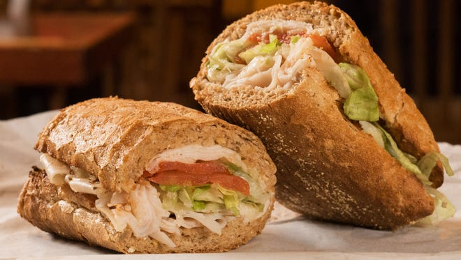 Potbelly Sandwich Shop's turkey sandwich
