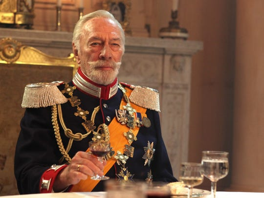 Christopher Plummer portrays Kaiser Wilhelm II of Germany