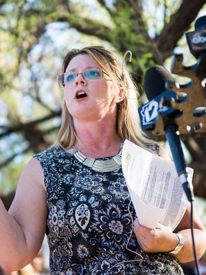 Rep. Kelly Townsend, R-Mesa said she was consulting with a lawyer for a class action lawsuit on behalf of Arizonans affected by the school closures prompted by Thursday's planned teacher walkout.
