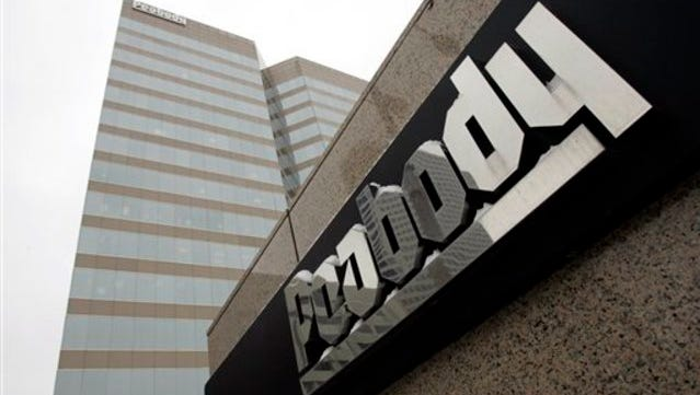 FILE - In this Jan. 27, 2009 file photo, Peabody Energy headquarters is shown in St. Louis.