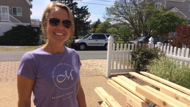 Marnie Oursler of Bethany Beach's Marnie Custom Homes.