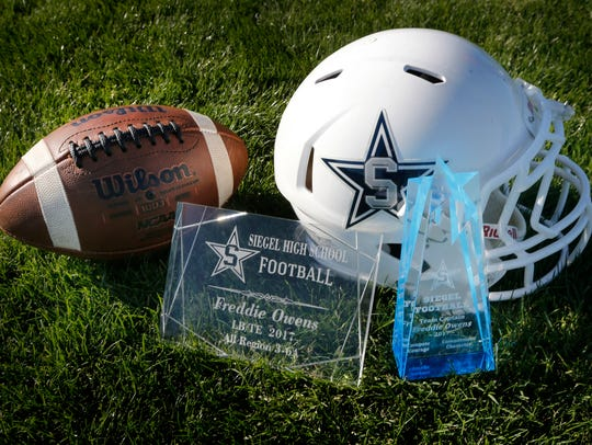 Some of the awards given to senior Siegel High School