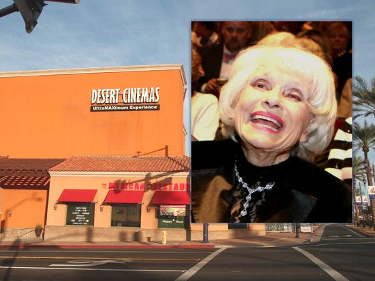 Broadway legend Carol Channing, pictured during her 95th birthday celebration in 2016 in Palm Desert. The Desert Cinemas in Cathedral City will be renamed in January, 2019 for her.