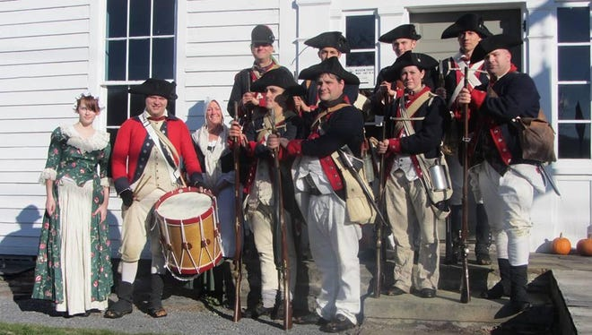 Members of the 1st New York Regiment McCracken's Company will demonstrate life during the Revolutionary War as part of the Heritage Village of the Southern Finger Lakes' Blast into History weekend.