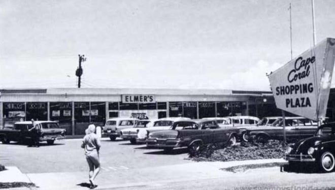 By 1964, the Cape had a shopping center with Elmer's Super Market, a beauty and a barber shop, a cleaners and clothing shops.