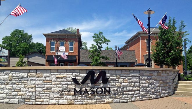 The city of Mason ranked third on the list and received kudos for its economic base.