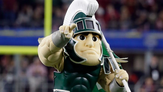 Sparty, the Michigan State mascot.