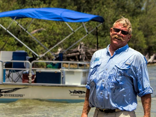 Feb. 13 presenter Marty Baum, Indian Riverkeeper. Baum will discuss how humans have forever altered the St. Lucie River and the Indian River Lagoon.