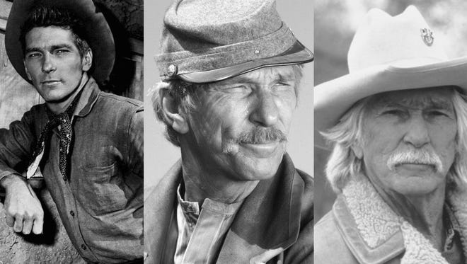L.Q. Jones over the years. Buchanan Rides Alone , Major Dundee, The Patriot