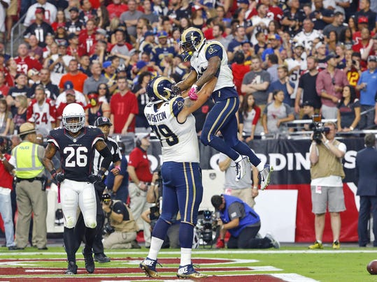Rams vs Cardinals 2015