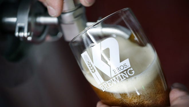 K2 Brothers Brewing Penfield brewery nears open.