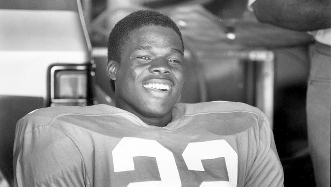 Tennessee's Floyd Miley pictured during the 1989 season.