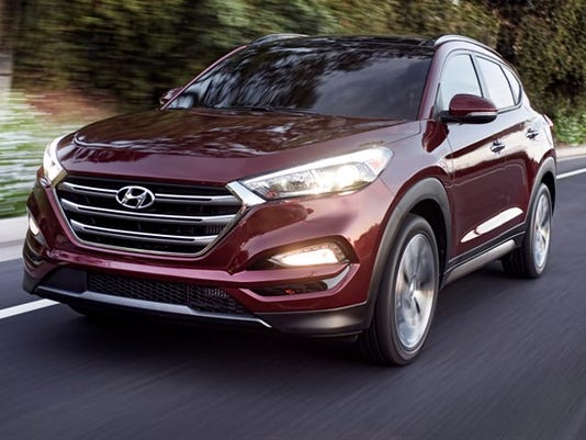 Hyundai pretties up Tucson SUV
