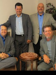 Southern Revelation is, from left, seated Ronnie McKeithen and Keith Lee, and standing, Richie Kelly and Mark Goodman.