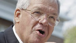 In this Aug. 17, 2007, file photo, former House Speaker