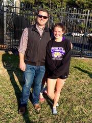 Patrick Quinn and daughter Kaylee Quinn