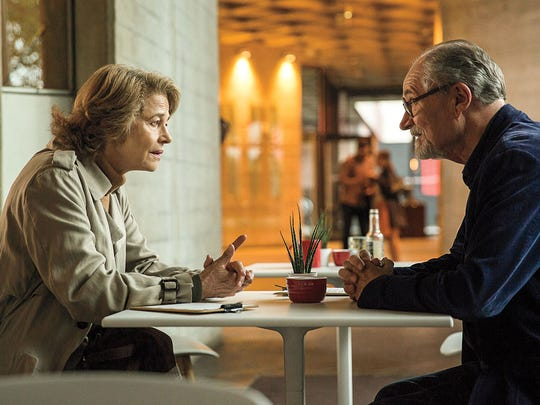 """Charlotte Rampling and Jim Broadbent play former lovers brought back together by a mysterious diary in """"The Sense of an Ending."""""""