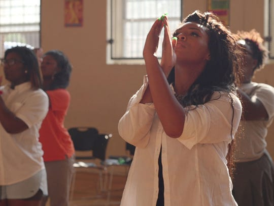 """""""Step"""" focuses on dance classes at the Baltimore Leadership School for Young Women."""