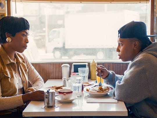 "Angela Bassett and Lena Waithe on the Thanksgiving episode of ""Master of None."""