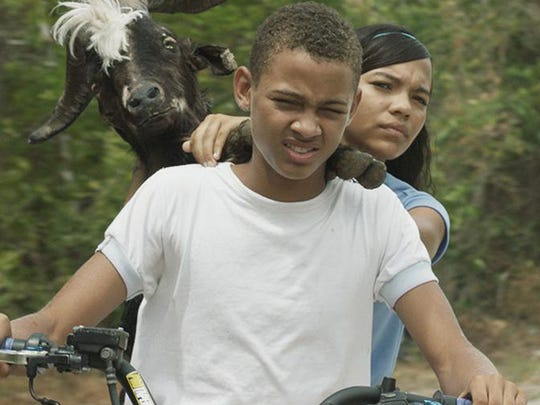 """Boy meets girl meets goat: The Colombian comedy """"Bad Lucky Goat"""" screens Tuesday at the Central Library."""