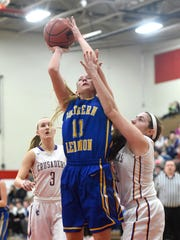 Megan Brandt and Northern Lebanon could be headed for a second-round rematch with Lancaster Catholic in Class AAA.
