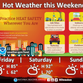 Forecasters continue to warn of potentially dangerous heat, humidity this weekend