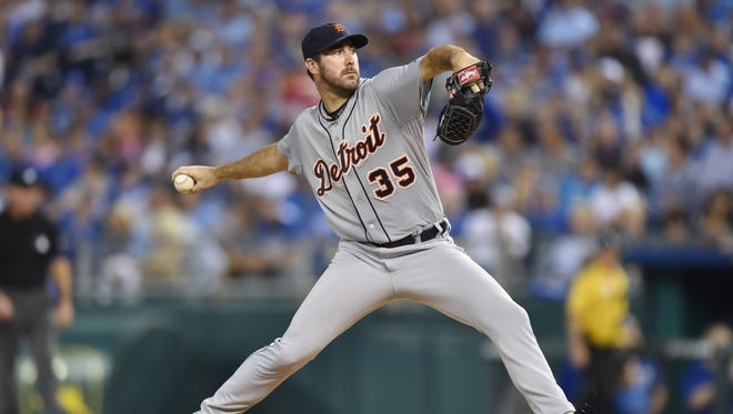 Justin Verlander allowed just one earned run over 7 1/3 innings against the Royals.