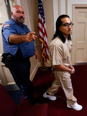 Convicted killer James Zarate in Morris County Superior Court for a New Jersey Supreme Court ordered resentencing in the 2005 murder of Randolph neighbor Jennifer Parks. November 8, 2017. Morristown, New Jersey