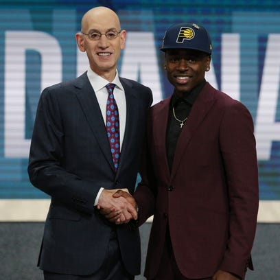 UCLA's Aaron Holiday falls into Pacers' lap in NBA draft with No. 23 overall pick