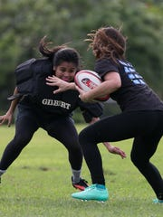 Players for the Guam National Rugby Team perform training exercises at Adelup Point on Oct. 31. Rudy Capistrano/For PDN