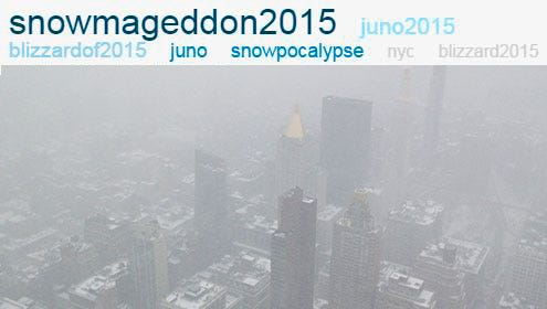 Trending topics, and a view from the Empire State Building.