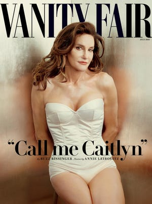 Caitlyn Jenner appears on the cover of Vanity Fair's July 2015 issue.