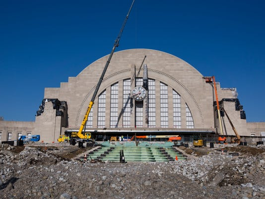 April 12, 2017: Union Terminal, Cincinnati, train station, Renovation, Liz Dufour