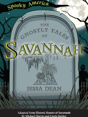 'The Ghostly Tales of Savannah' will be available wherever books are sold on Sept. 7