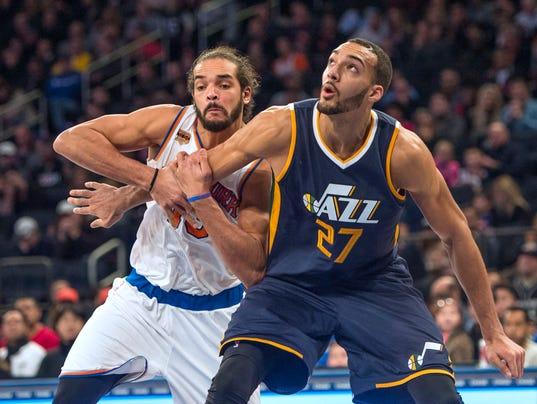 NBA: Utah Jazz at New York Knicks