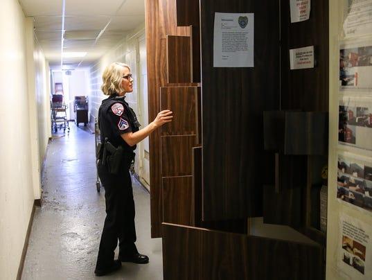 Tour inside San Angelo Police Headquarters
