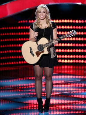 """Morgan Frazier has advanced to the Battle Rounds on """"The Voice."""""""
