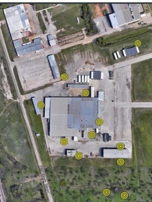 Braun Intertec proposes 12 sites to check for environmental issues at the former ATCO building. A potential buyer backed out of a deal on the building because a previous study indicated environmental problems.