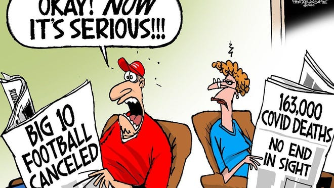 Cartoon by Walt Handelsman