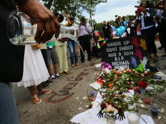 US NEWS MISSOURI-SHOOTING-WEDNESDAY-PROTEST 3 AT