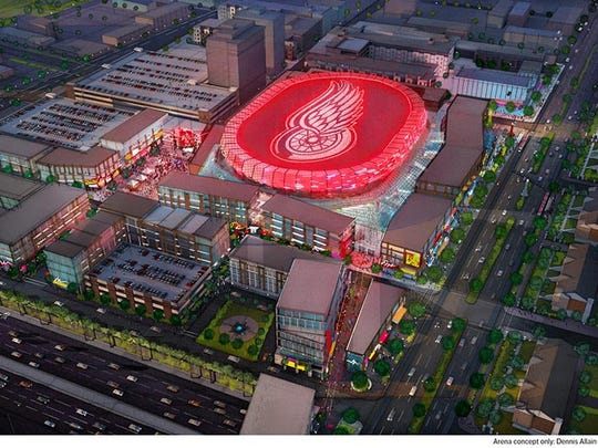 Olympia is seeking the zoning change so construction can begin on the $450 million arena that's expected to open in the summer of 2017.