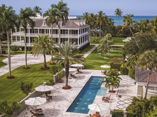 The $75 million home at 2500 Gordon Drive. Top-of-the-line finishings, a Port Royal address and a home on the beach make this property valuable enough to warrant its price tag, according to real estate experts.